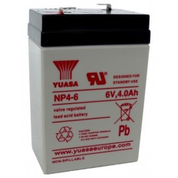 Pile rechargeable 6 v 4 Amp
