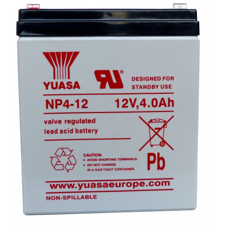 Pile rechargeable 12v 4,0 Amp